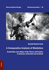 Dominik Helmut Carle - A Comparative Analysis of Mediation
